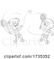 01/22/2021 - Children Playing Badminton