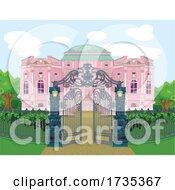 Gate And Pink Palace