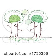 Talking Trees With Visible Brains