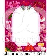 Poster, Art Print Of Valentines Day Border