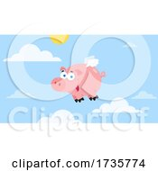 Flying Pig In The Sky