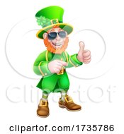 Leprechaun St Patricks Day Cartoon Character