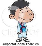 Cartoon Korean Boy