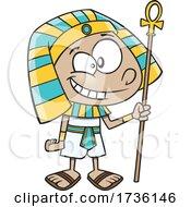 Cartoon Ancient Egyptian Boy
