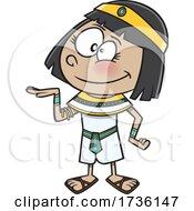 Cartoon Ancient Egyptian Girl