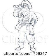 02/02/2021 - Pirate Using A Telescope