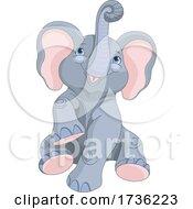 02/02/2021 - Cute Baby Elephant