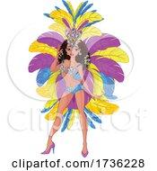 Samba Dancer by Pushkin