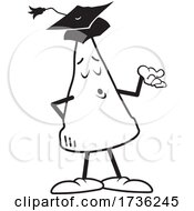Black And White Dunce Cap Wearing A Graduation Cap
