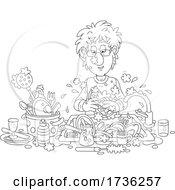 02/02/2021 - Man Washing Dishes