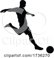 02/02/2021 - Soccer Football Player Silhouette