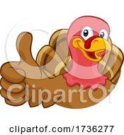 02/02/2021 - Turkey Thanksgiving Or Christmas Cartoon Character