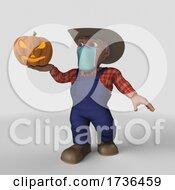 3D Farmer Character