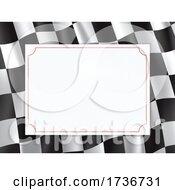 Racing Flag Border