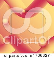 Abstract Gradient Waves Background 0901