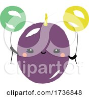 Cute Passion Fruit With Balloons
