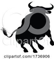02/14/2021 - Silhouette Bull