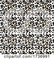 Abstract Background With Watercolour Animal Print Pattern