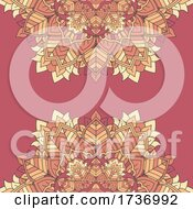 Decorative Background With An Elegant Mandala Design