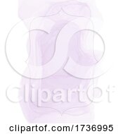 Purple Watercolor And Frame Or Menu Background