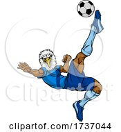 Eagle Soccer Football Player Animal Sports Mascot