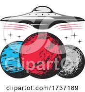 02/20/2021 - Alien UFO Flying Saucer