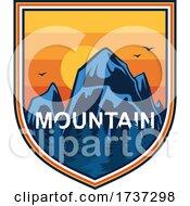 Poster, Art Print Of Mountain Logo