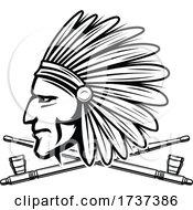 Poster, Art Print Of Native American Logo
