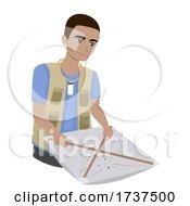 02/23/2021 - Teen Boy Entomology Beating Sheet Illustration