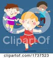 02/23/2021 - Kids Hopping Illustration
