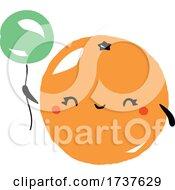 02/24/2021 - Orange And Balloon