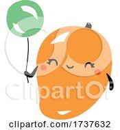 Mango And Balloon