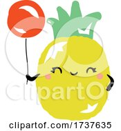 02/24/2021 - Pineapple And Balloon