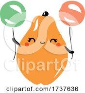 02/24/2021 - Papaya And Balloons