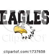 Bald Eagle Mascot And Text