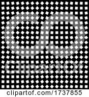 02/27/2021 - Black And White Squares In Optical Illusion Grid