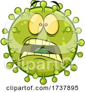 02/24/2021 - Fearful Green Virus Character
