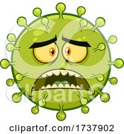 02/24/2021 - Scared Green Virus Character