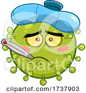 02/24/2021 - Sick Green Virus Character