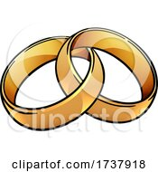 02/27/2021 - Wedding Ring Bands Vintage Illustration