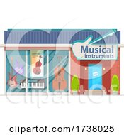 Musical Instrument Store Front