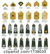 Military Stripes Adn Badges