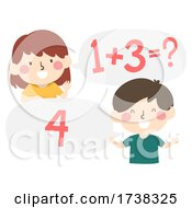 Kids Math Exercise Question Answer Illustration