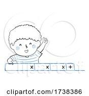 Poster, Art Print Of Kid Boy Doodle Web Browser Tabs Illustration