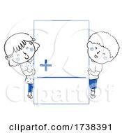 Poster, Art Print Of Kids Math Flash Card Addition Illustration