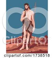 El Greco Domenikos Theotokopoulos Artwork Of Saint John The Baptist Circa 1597 WPA Poster Art