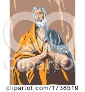 El Greco Domenikos Theotokopoulos Artwork Of The Tears Of Saint Peter Circa 1587 WPA Poster Art