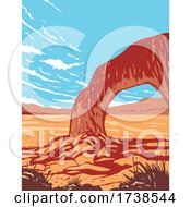 Basin And Range National Monument In Remote Undeveloped Mountains And Valleys In Lincoln And Nye Counties Nevada WPA Poster Art
