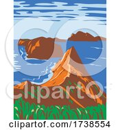 Channel Islands National Park Off The Southern California Coast United States WPA Poster Art