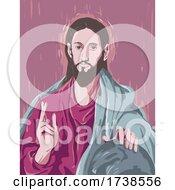 El Greco Domenikos Theotokopoulos Artwork Of Christ Blessing Or The Saviour Of The World Circa 1600